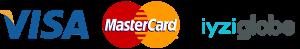 visa mastercard iyziglobe logo