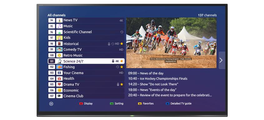 IPTV - Ministra TV (Stalker Portal) Platform
