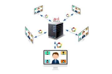 WebRTC Servers and Multiparty Communication in WebRTC 7