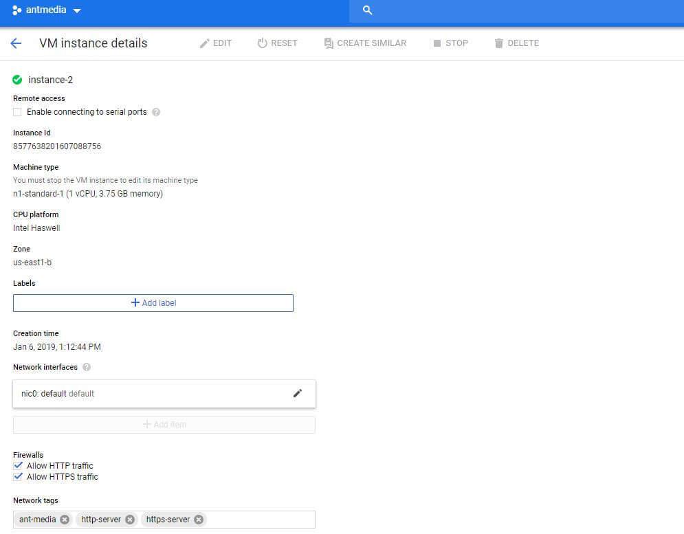Google Cloud Firewall Details