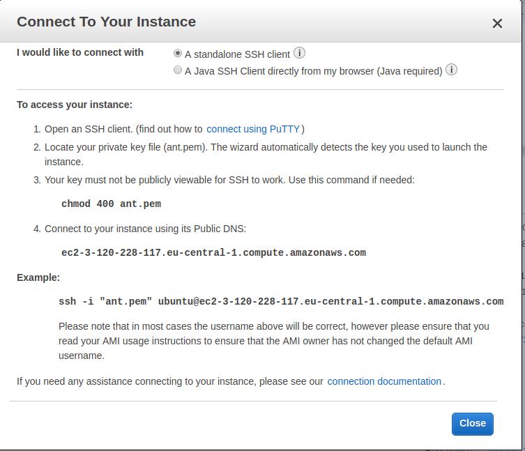 Start Ant Media Server on AWS Marketplace