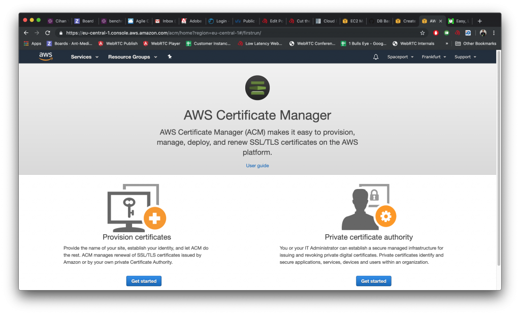 Step by Step Guide: How to get SSL Certificate on AWS Certificate Manager for your Domain Name? 1