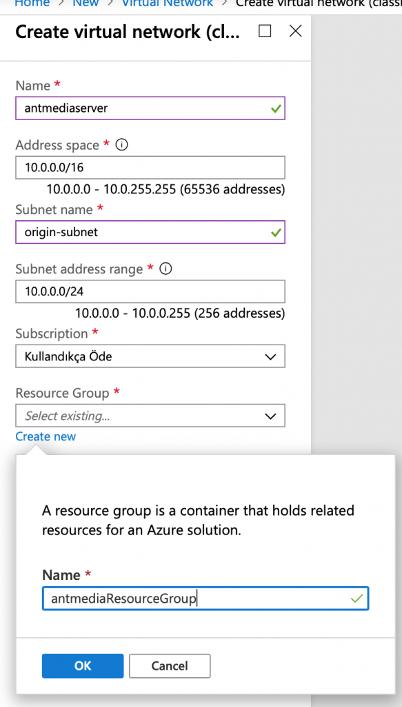 How to Setup Ant Media Server Clustering on Azure 3