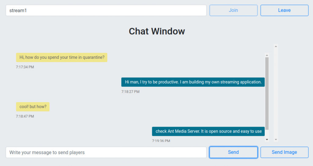 WebRTC Chat and File Transfer Done Easily with Ant Media Server - Part 1 2
